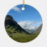 Hidden Valley Glencoe Scotland Christmas Ornament