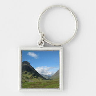 Hidden Valley Glencoe Scotland Keychain