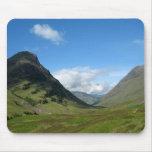 Hidden Valley Glencoe Scotland Mousepad