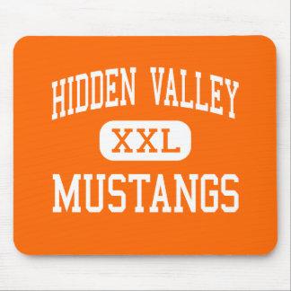 Hidden Valley - Mustangs - High - Grants Pass Mouse Mats