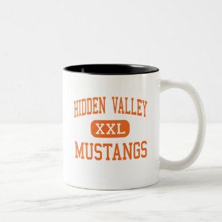 Hidden Valley - Mustangs - High - Grants Pass Coffee Mug
