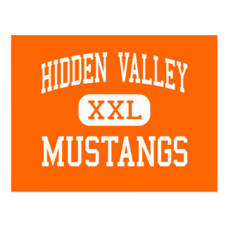 Hidden Valley - Mustangs - High - Grants Pass Postcard