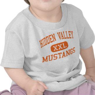 Hidden Valley - Mustangs - High - Grants Pass Shirts