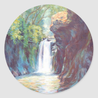 Hidden Valley, Philippines Classic Round Sticker
