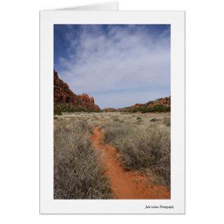 Hidden Valley Utah Greeting Card