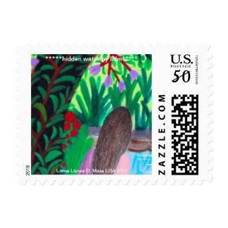 """Hidden Water"" Postage/Stamp Postage"