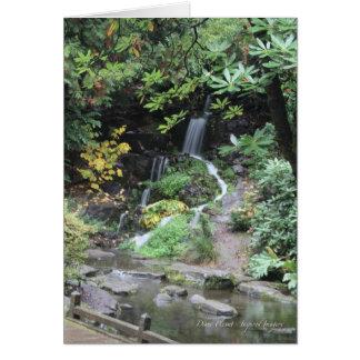 Hidden Waterfall Card