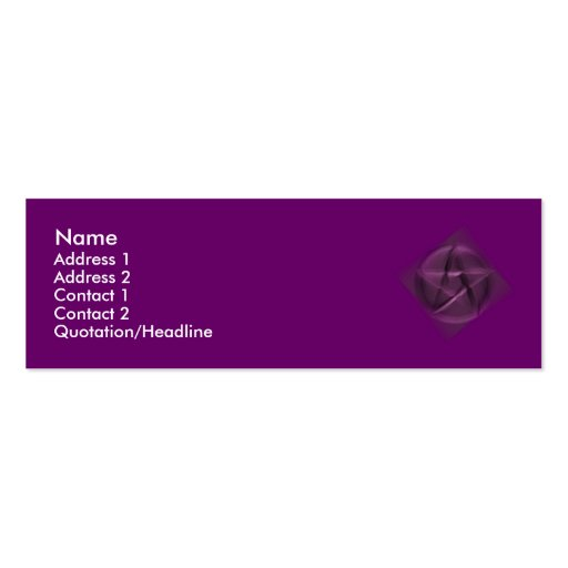 Hidden Wiccan Double-Sided Mini Business Cards (Pack Of 20)
