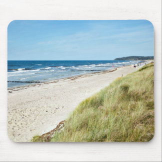 Hiddensee beach mouse pad