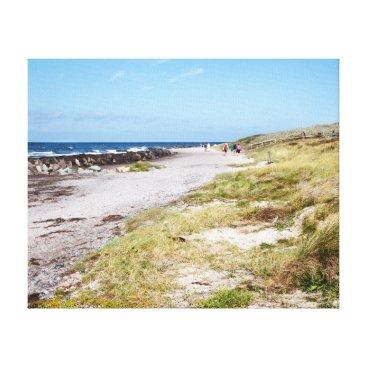 Beach Themed Hiddensee Canvas Print