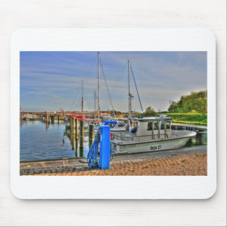 Hiddensee Harbour Mouse Pad