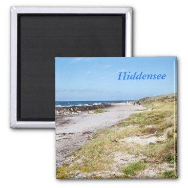 Beach Themed Hiddensee Magnet