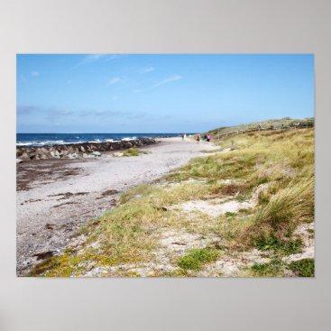 Beach Themed Hiddensee Poster