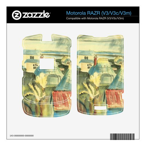 Hiddensoe después de la lluvia de Gualterio Gramat Motorola RAZR Skin