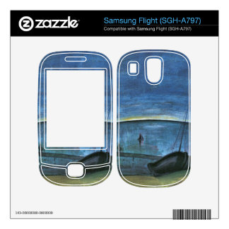 Hiddensoe morning on the sea by Walter Gramatte Decals For Samsung Flight
