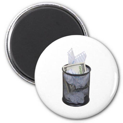 HiddenWaste053109 2 Inch Round Magnet