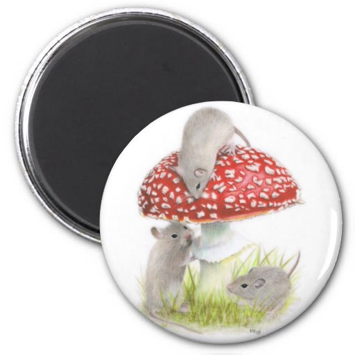 Hide And Seek 2 Inch Round Magnet