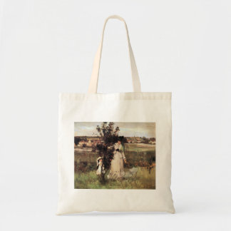 Hide-and-seek by Berthe Morisot Tote Bag