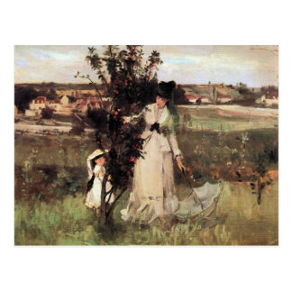 Hide-and-seek by Berthe Morisot Postcard