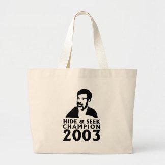 Hide And Seek Champion 2003 Large Tote Bag