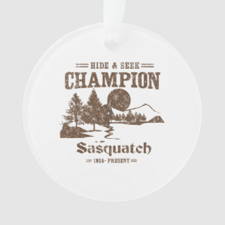 Hide and Seek Champion Sasquatch Ornament
