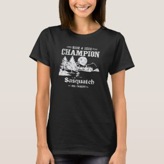 Hide and Seek Champion Sasquatch T-Shirt
