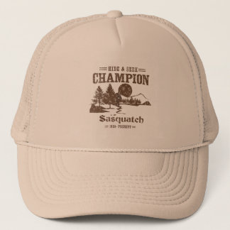 Hide and Seek Champion Sasquatch Trucker Hat