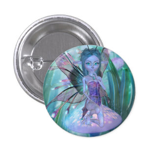 Hide and Seek Fairy Button