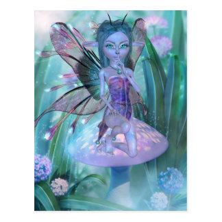 Hide and Seek Fairy Postcard