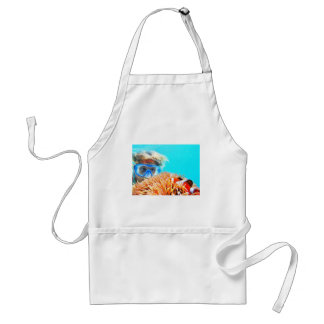 hide and seek with NEMO.JPG Adult Apron