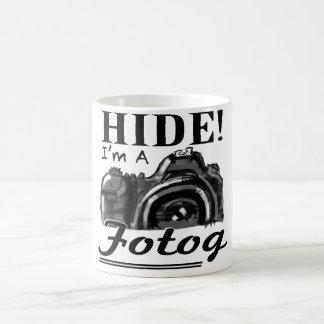 HIDE! I'm A Fotog Mug