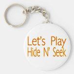 Hide N Seek Key Chains