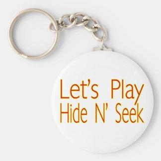 Hide N Seek Keychain