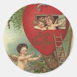 Hide n Seek Valentine Stickers