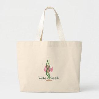 Hide & Seek Canvas Bags