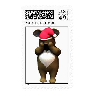 Hide & Seek Koala Bear Postage Stamp