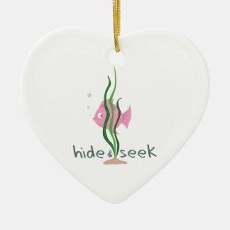 Hide & Seek Christmas Ornaments