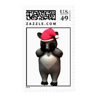 Hide & Seek Raccon! Stamp