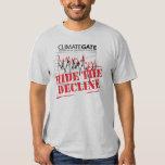 Hide The Decline - Climategate T-shirt