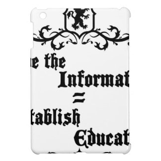 Hide The Information Establish Education Cover For The iPad Mini