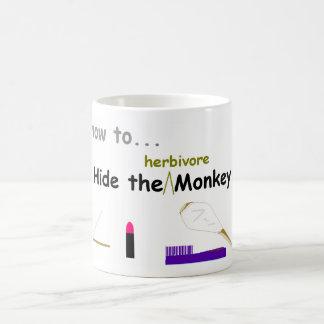 Hide the Monkey Mug