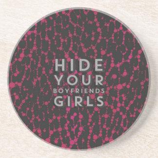 Hide Your Boyfriends Coasters