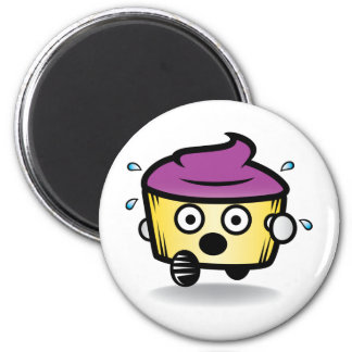 Hide your cupcakes! 2 inch round magnet