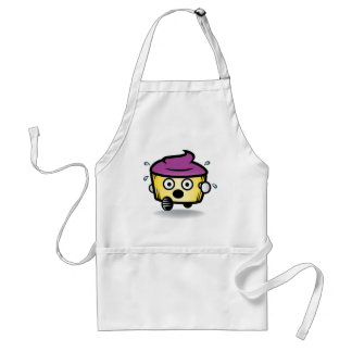 Hide your cupcakes! adult apron