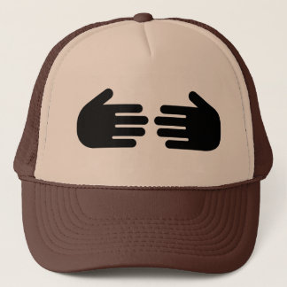 hide your head trucker hat