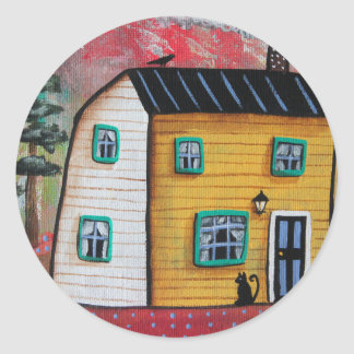 Hideaway House Classic Round Sticker