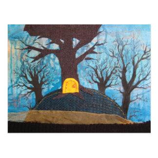 Hideaway in Deming Heights postcard
