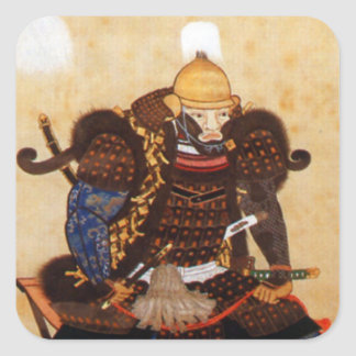 Hidehisa Sengoku Square Sticker