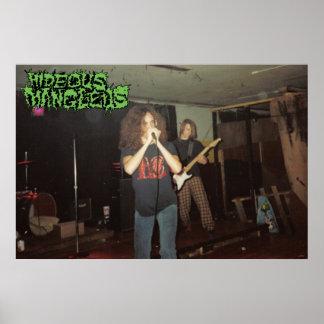 Hideous Mangleus Live Photo Poster