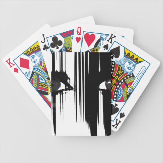 Hiding Behind The Pain Bicycle Playing Cards
